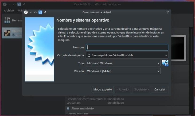 Configurando máquina virtual