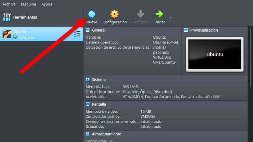 Crear máquina virtual de Windows 10