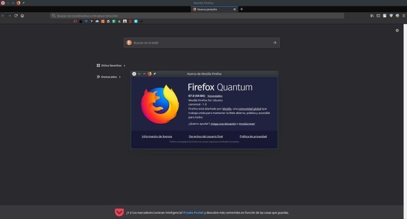 Firefox 67 llega con WebRender