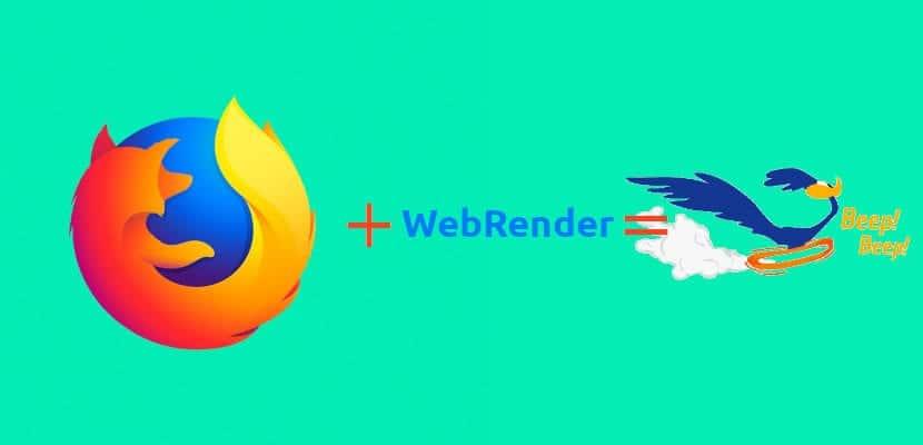 Firefox rápido con WebRender