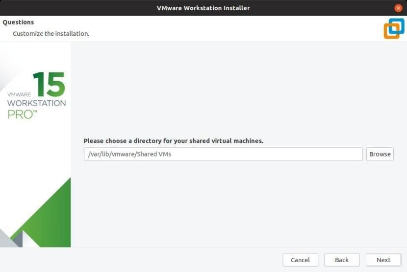 Destino de las máquinas virtuales