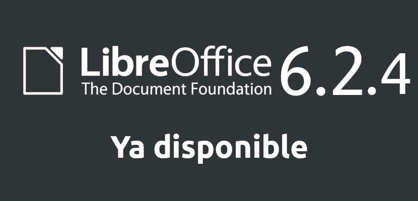 LibreOffice 6.2.4 ya esta aquí para corregir un buen cúmulo de errores conocidos
