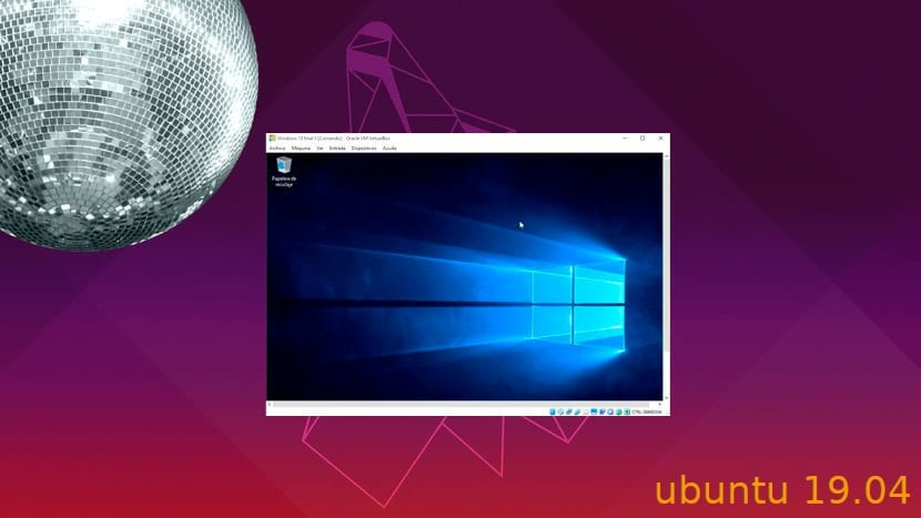 Máquina virtual de Windows 10 en Disco Dingo