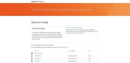Ubuntu Kylin 19.10 Eoan Ermine