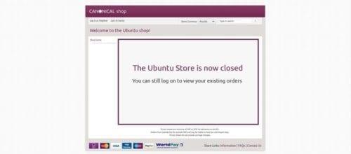 Ubuntu Store cerrada