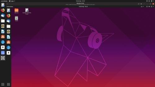 Ubuntu en Ubuntu en GNOME Boxes