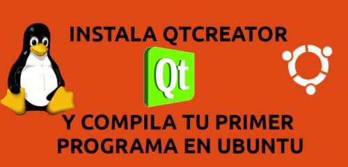 about compila tu primer programa con Qt Creator