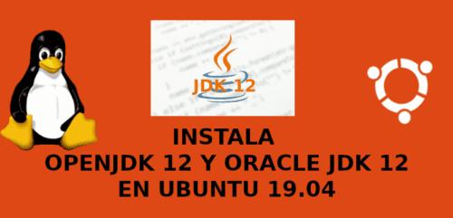 about jdk 12 en Ubuntu 19.04