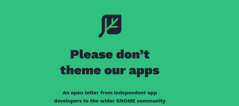 carta de desarrolladores