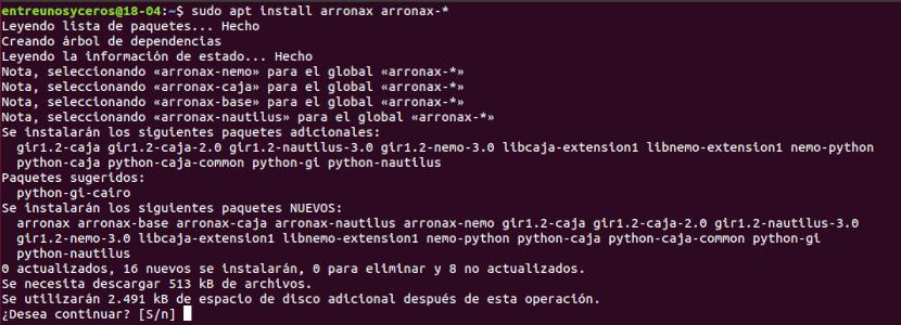 instalar arronax