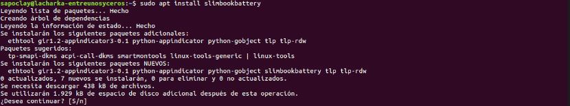 instalar Slimbook Battery 3