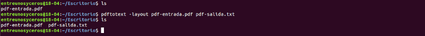 pdftotextconvertir pdf a texto sin formato