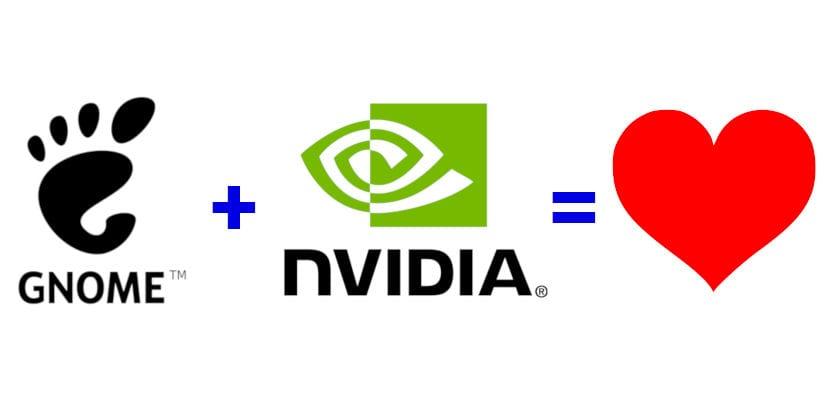 GNOME y NVIDIA