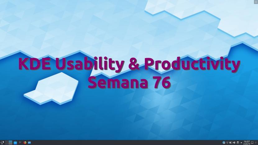 KDE Usability & Productivity