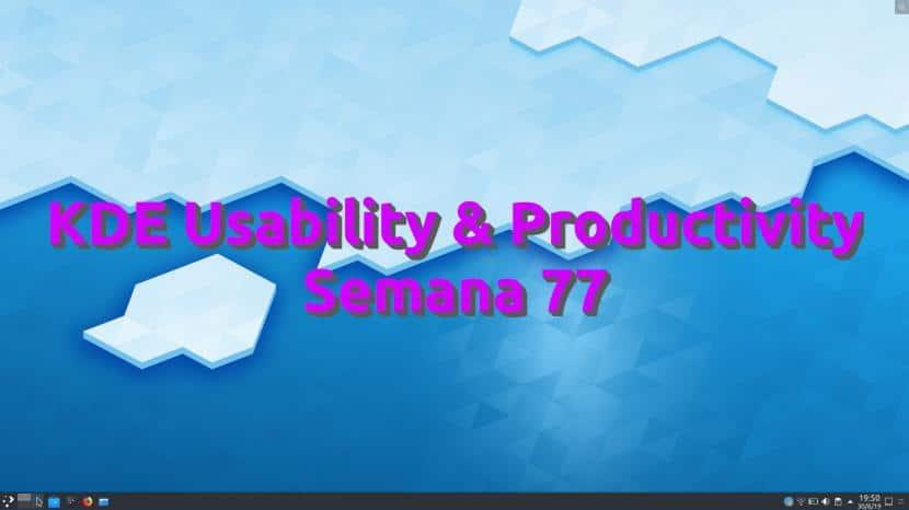 KDE Usability & Productivity semana 77