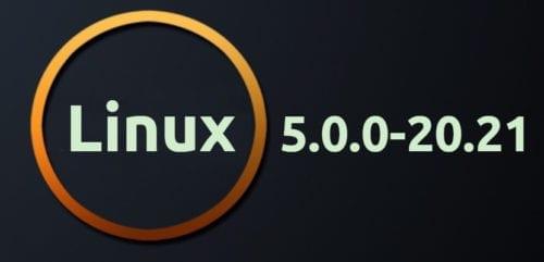 Linux 5.0.0-20.21 de Ubuntu