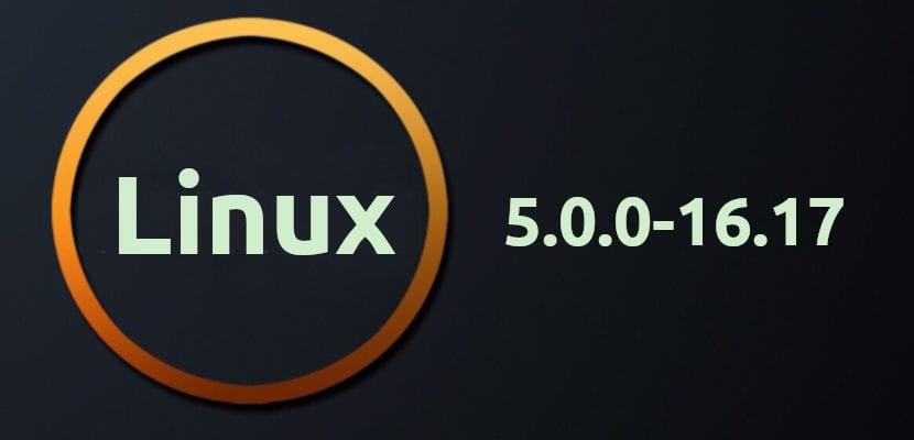 Linux Kernel 5.0.0-16.17