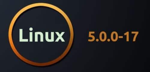 Linux Kernel 5.0.0-17
