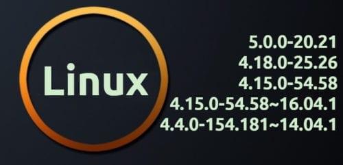 Nuevas versiones del kernel para Ubuntu 18.10, 18.04, 16.04 y 14.04