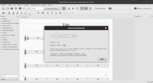 About MuseScore 3.1