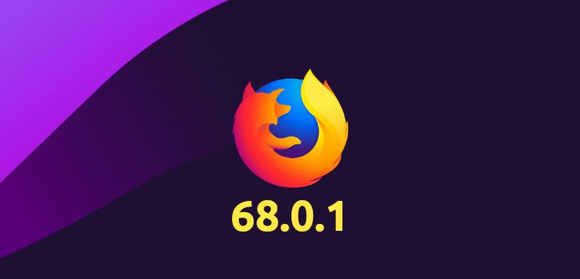 Firefox 68.0.1