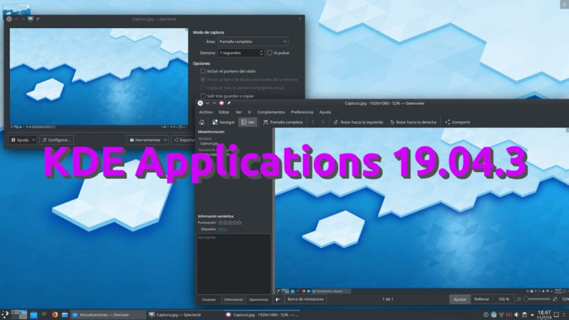 KDE Appilcations 19.04.3