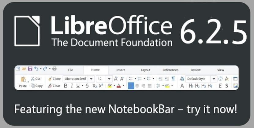 LibreOffice 6.2.5