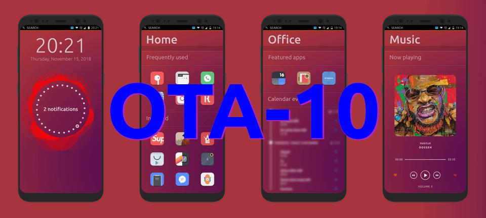 OTA-10 de Ubuntu Touch