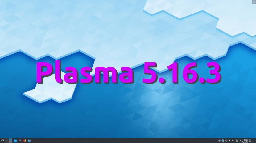 Plasma 5.16.3