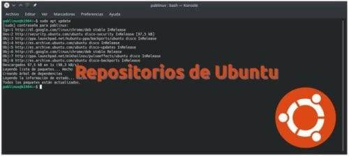 Repositorios de Ubuntu