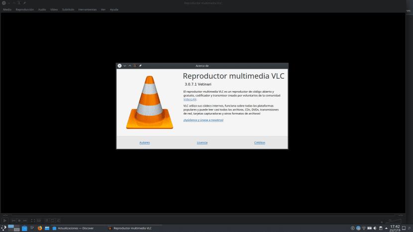 VLC 3.0.7.1
