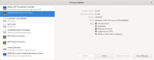 GNOME Firmware