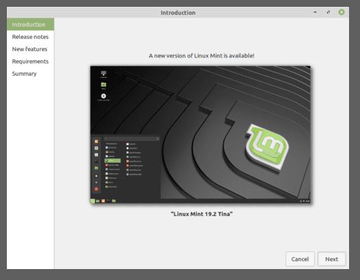 Instrucciones para actualizar Linux Mint