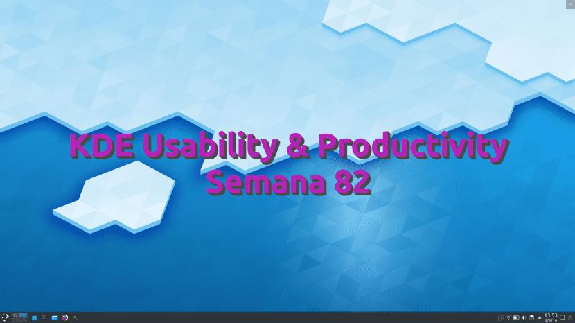 KDE Usability Y Productivity semana 82