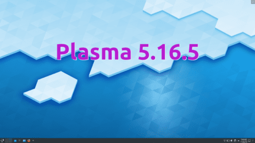 Plasma 5.16.5