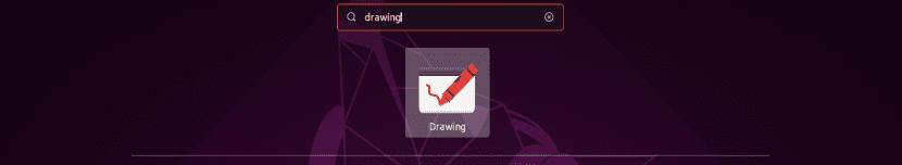 lanzador drawing en Ubuntu