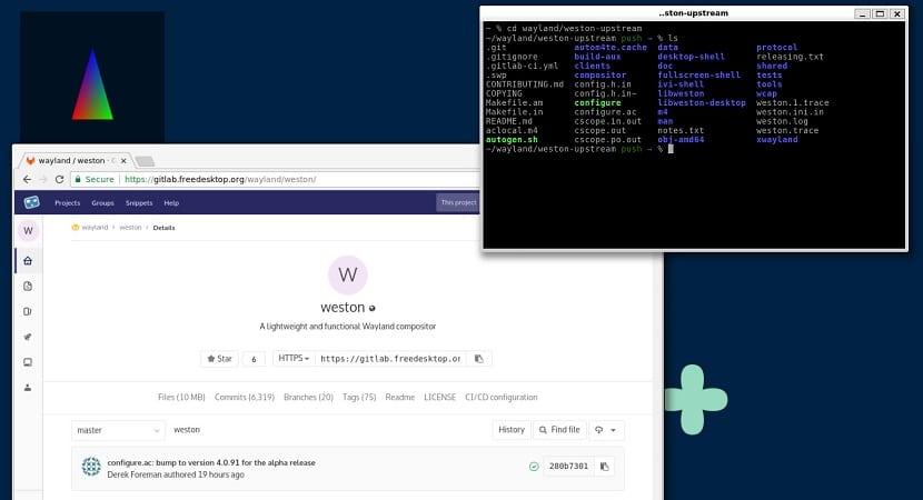 Liberada la nueva versión del servidor compuesto de Wayland
