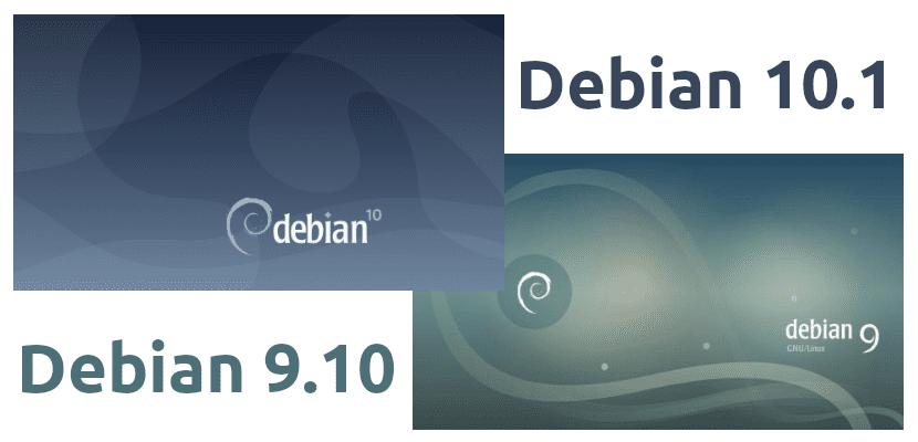 Debian 10.1 y 9.10