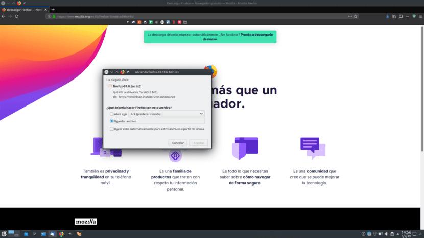 Firefox 69 ya disponible