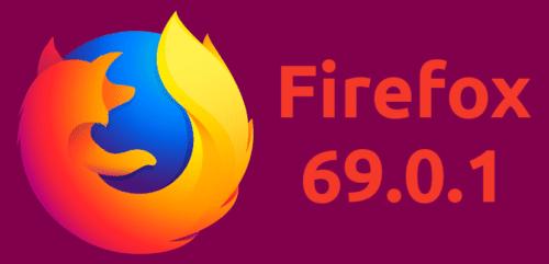 Firefox 69.0.1