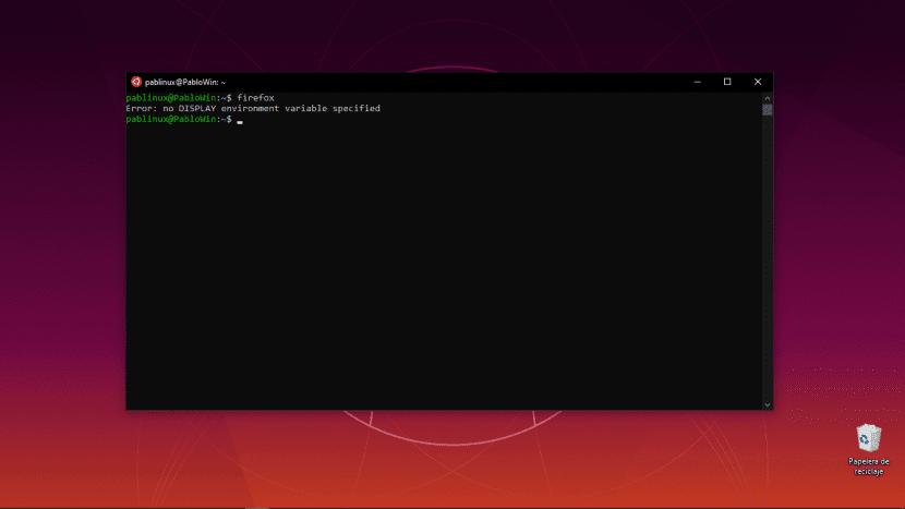 No funcionan programas con GUI en WSL