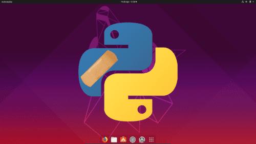 Python reparado en Ubuntu