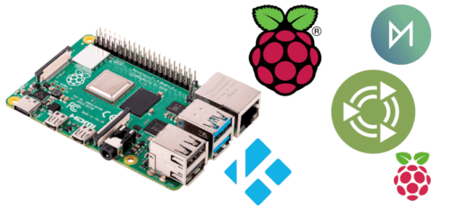 Raspberry Pi 4 con sus sistemas operativos