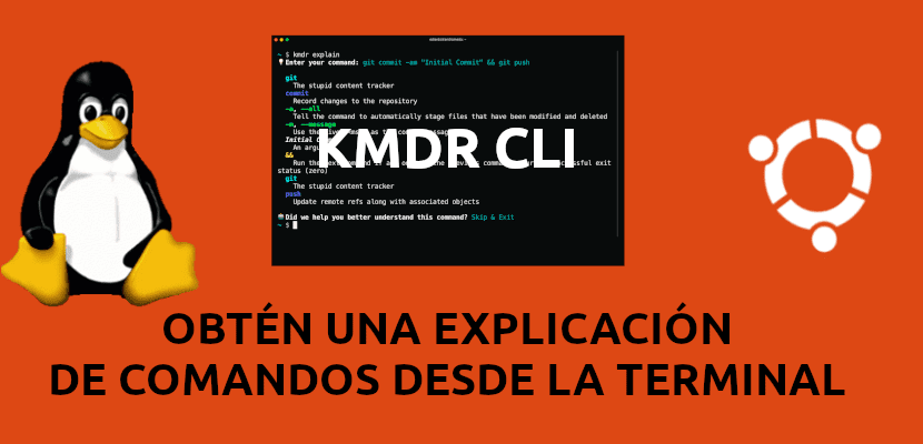 about kmdr cli