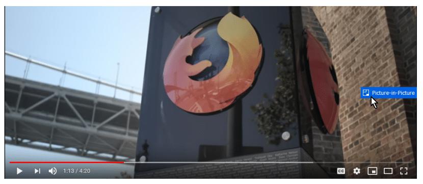 Activador de PiP en Firefox