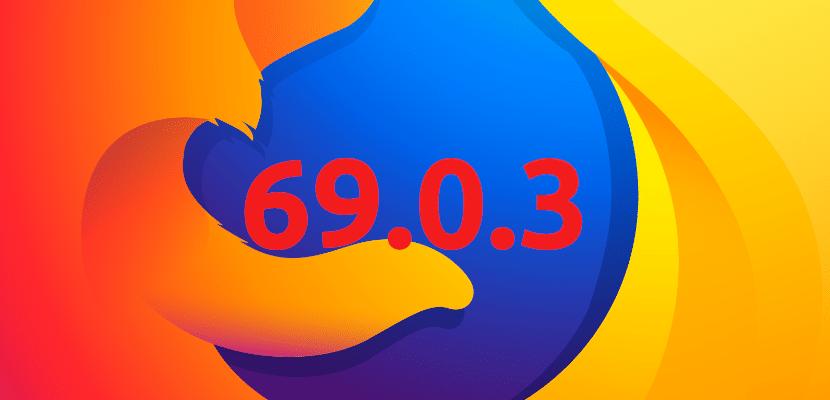 Firefox 69.0.3