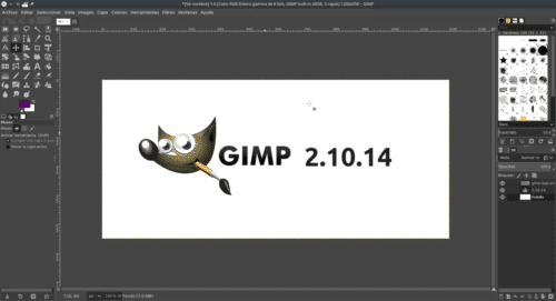 GIMP 2.10.14