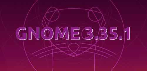 GNOME 3.35.1