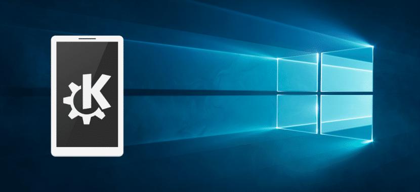 KDE Connect en Windows