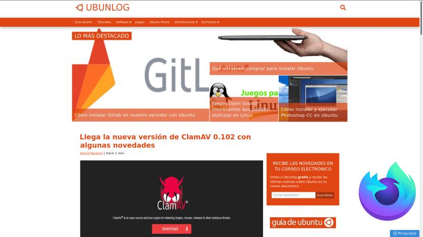 Kiosk mode en Firefox 71